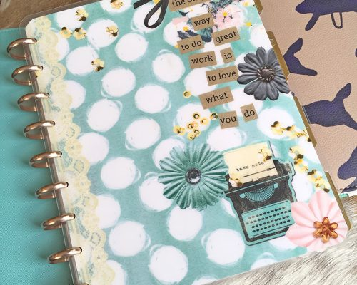 My Very First Custom Happy Planner Cover