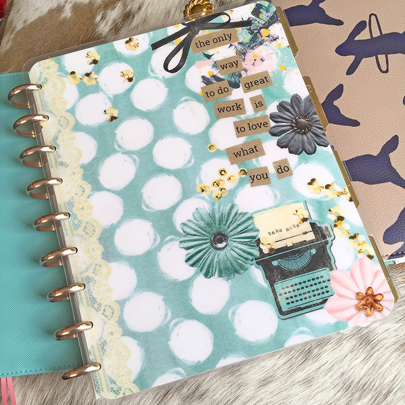 Happy Planner Cover Printable