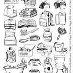 Hand Drawn Chore Icons Printable