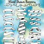 Hand Drawn Banners Printable