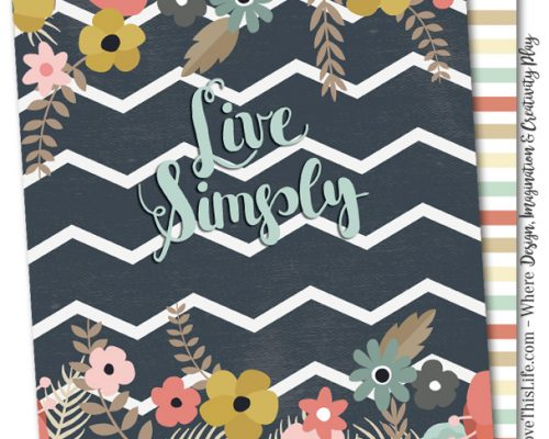 Live Simply Cover
